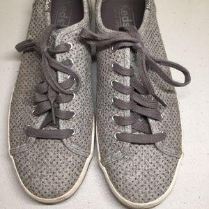 Keds Women Kickstart Glitter Grey Wool Sneakers 7